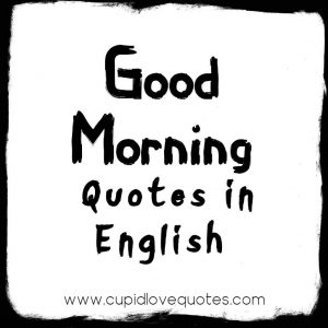 Good Morning Quotes With Images